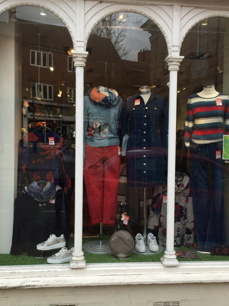 Shop Window From Wednesday 24th February